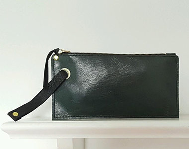 The Lucky Wristlet - Black